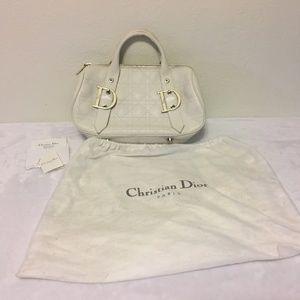 Dior Bags - Authentic Christian Dior Leather Purse Handbag